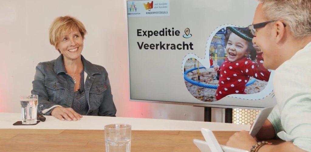 Screenshot Webinar Expeditie Veerkracht