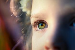 ogen van een kind