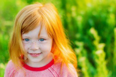 Roodharig meisje