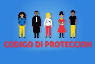Van gezinsdrama naar beschermingscode - illustratie