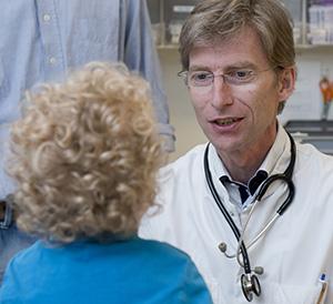 Dokter met jongetje