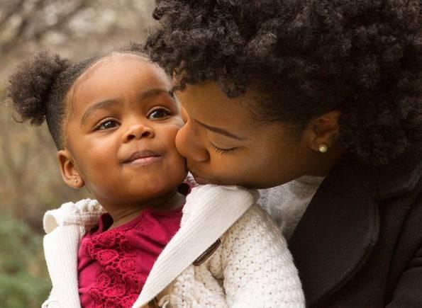 Ouders versterken - moeder en dochter