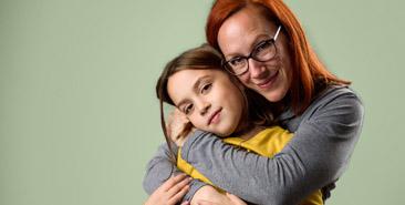 Ouderschap - moeder met dochter